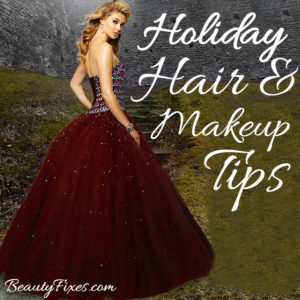 Holiday Beauty Fixes Tips