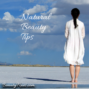 Natural beauty tips at beauty fixes