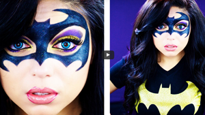 Halloween Batman Inspired Makeup Tutorial