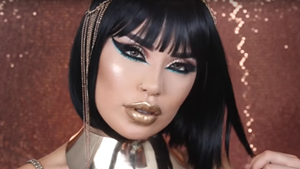 Cleopatra Makeup Tutorial for Halloween 2016
