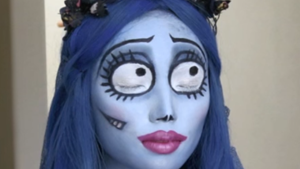 Emily Corpse Bride Makeup Tutorial for Halloween
