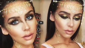 Golden Goddess Do it Yourself Makeup Tutorial