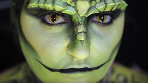 Lizard Person Halloween Makeup Costume Tutorial