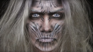 White Walker Halloween Makeup Tutorial