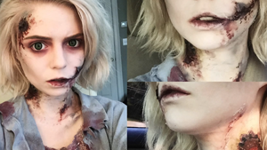 Dead Zombie Halloween Makeup Tutorial Inspired By The Walking Dead