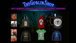 The Goblin Shop Halloween Gear Advertisement