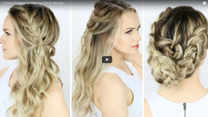 3 Prom or Wedding Hairstyles You Can Do Yourself!
